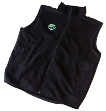 yellowstone safari fleece vest
